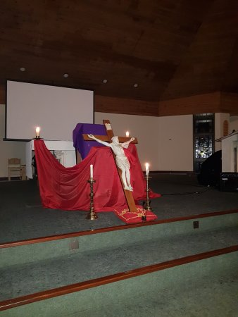 Decoration for the prayer evening