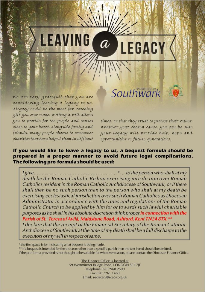 Legacy Leaflet
